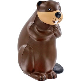 Beaver Stress Ball for Marketing