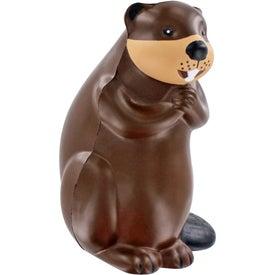 Beaver Stress Ball for Marketing