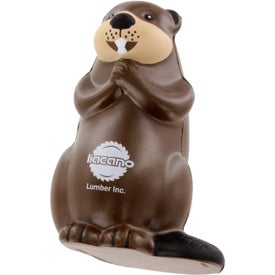 Promotional Beaver Stress Ball