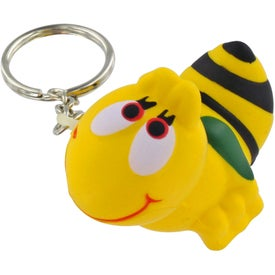 Bee Key Chain Stress Ball for Your Company
