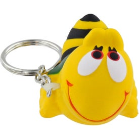 Company Bee Key Chain Stress Ball