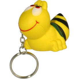 Bee Key Chain Stress Ball