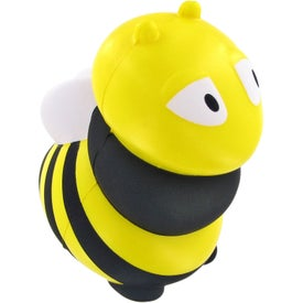 Bee Stress Ball Printed with Your Logo