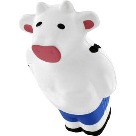 Monogrammed Beefcake Cow Stress Reliever