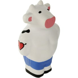 Beefcake Cow Stress Reliever with Your Slogan