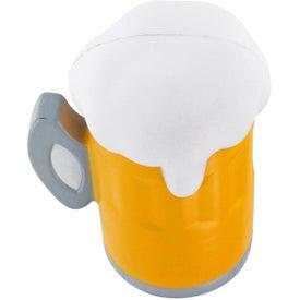 Beer Mug Stress Ball with Your Slogan