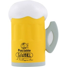 Beer Mug Stress Ball for Your Organization
