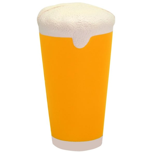 Yellow Beer Pint Glass Stress Reliever
