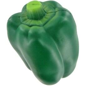 Customized Bell Pepper Stress Ball