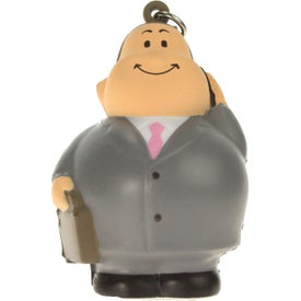 Personalized Business Bert Stress Reliever Keyring