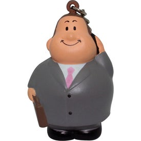Business Bert Stress Reliever Keyring