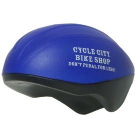 Bicycle Helmet Stress Ball
