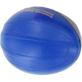 Monogrammed Bicycle Helmet Stress Ball