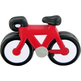 Branded Bicycle Stress Toy