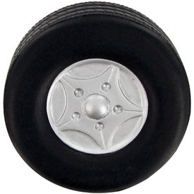 Monogrammed Big Tire Stress Toy