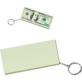 Custom 100 Dollar Bill Key Chain