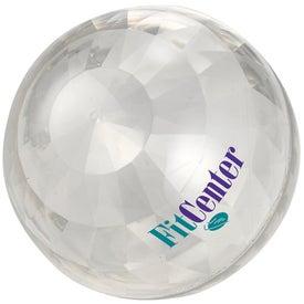 Monogrammed Bling Bounce Ball