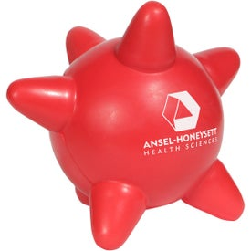 Blood Platelet Stress Ball Branded with Your Logo