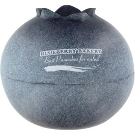 Blueberry Stress Ball with Your Logo