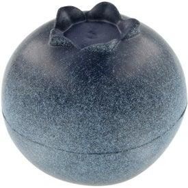 Monogrammed Blueberry Stress Ball