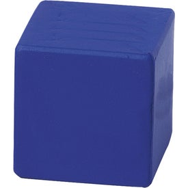 Blue Cube Stress Reliever