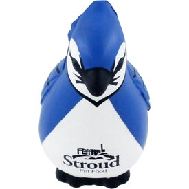 Promotional Blue Jay Stress Ball