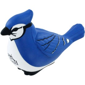 Personalized Blue Jay Stress Ball