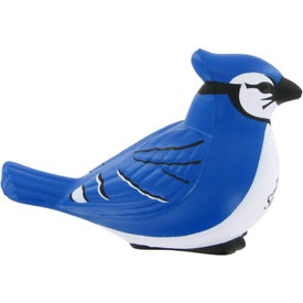 Blue Jay Stress Ball Branded with Your Logo