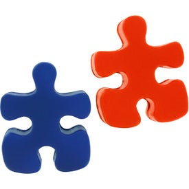 Advertising Puzzle Piece Stress Reliever