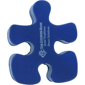 Printed Puzzle Piece Stress Reliever