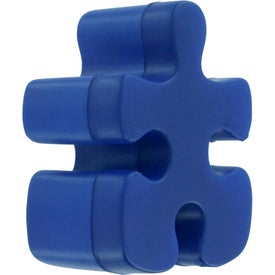 Personalized Puzzle Piece Stress Reliever