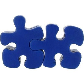 Puzzle Piece Stress Reliever with Your Logo