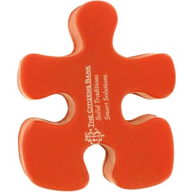 Puzzle Piece Stress Reliever Imprinted with Your Logo