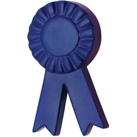 Logo Blue Ribbon Stress Reliever