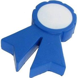 Logo Blue Ribbon Stress Ball