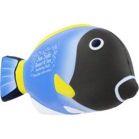 Branded Blue Tang Fish Stress Ball