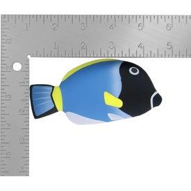 Personalized Blue Tang Fish Stress Ball