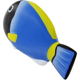 Customized Blue Tang Fish Stress Ball