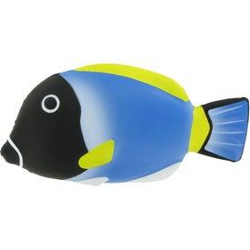 Blue Tang Fish Stress Ball