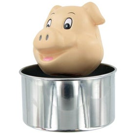 Bobble Head Pig Stress Toy for Your Company