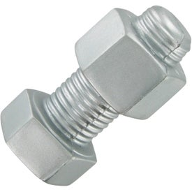 Bolt Nut Stress Toy for Advertising