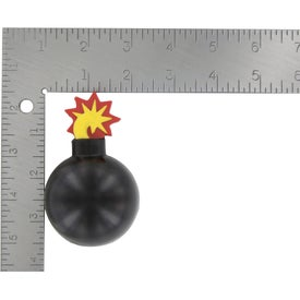 Bomb With Fuse Stress Ball for Promotion