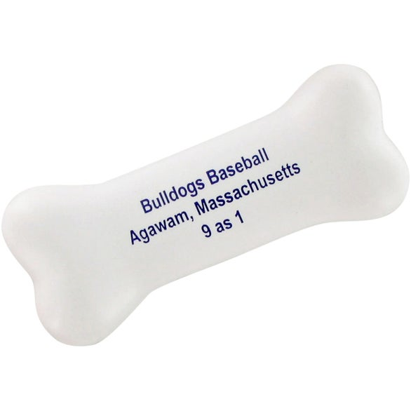 White Bone Stress Toy