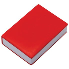 Book Stress Reliever Printed with Your Logo