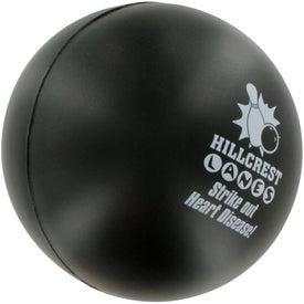 Company Bowling Ball Stress Ball