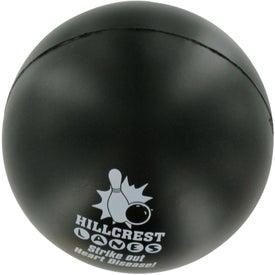 Promotional Bowling Ball Stress Ball