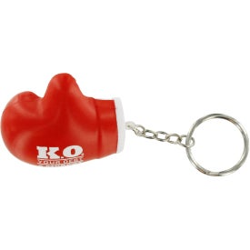 Boxing Glove Key Chain Stress Ball Giveaways