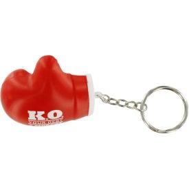 Boxing Glove Key Chain Stress Ball Giveaways