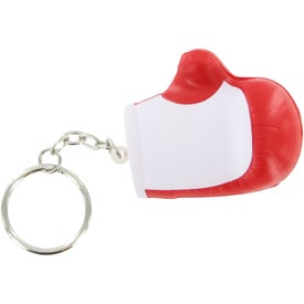 Boxing Glove Key Chain Stress Ball Imprinted with Your Logo
