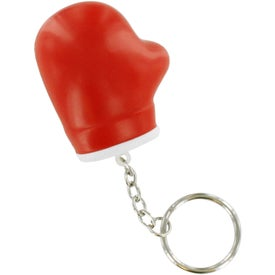 Boxing Glove Key Chain Stress Ball